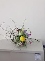春の花材で